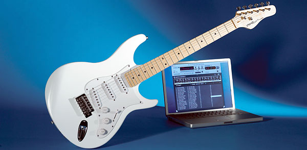 connect your guitar to laptop