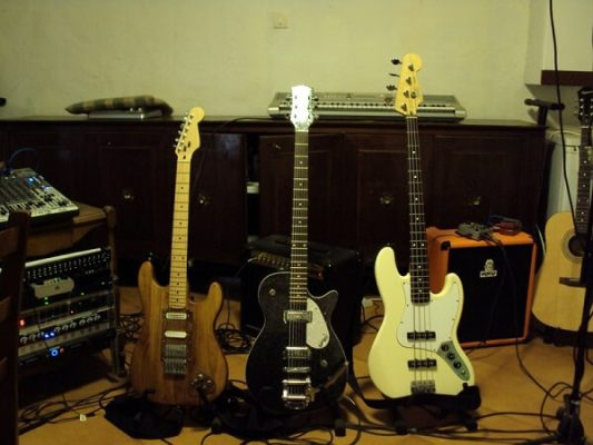 The baritone guitar is a guitar with a longer scale length